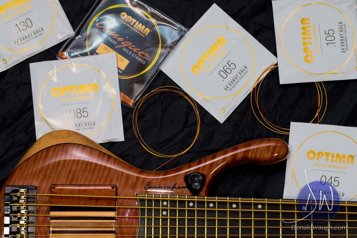 Optima Strings - 24 Carat Gold Strings @ Summer NAMM 2017