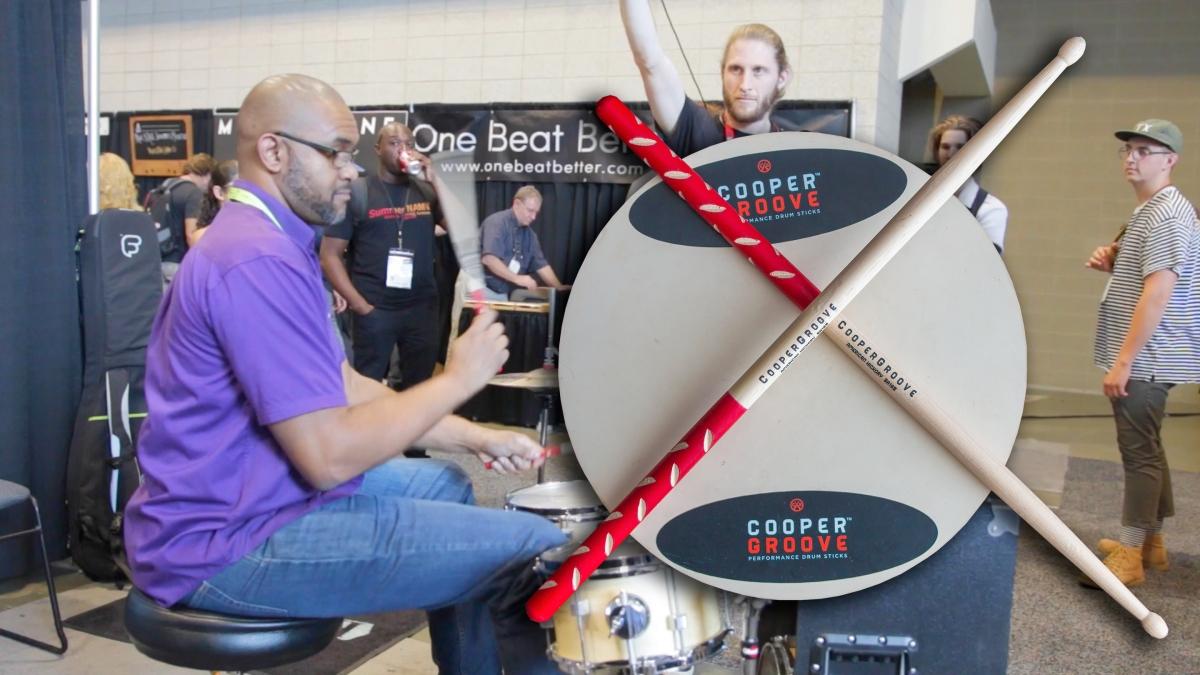 CooperGroove Drum Sticks @ SNAMM'18