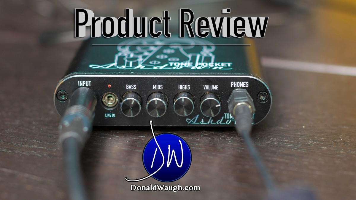 A BIG review for a tiny Tone Pocket by Ashdown Engineering!!!