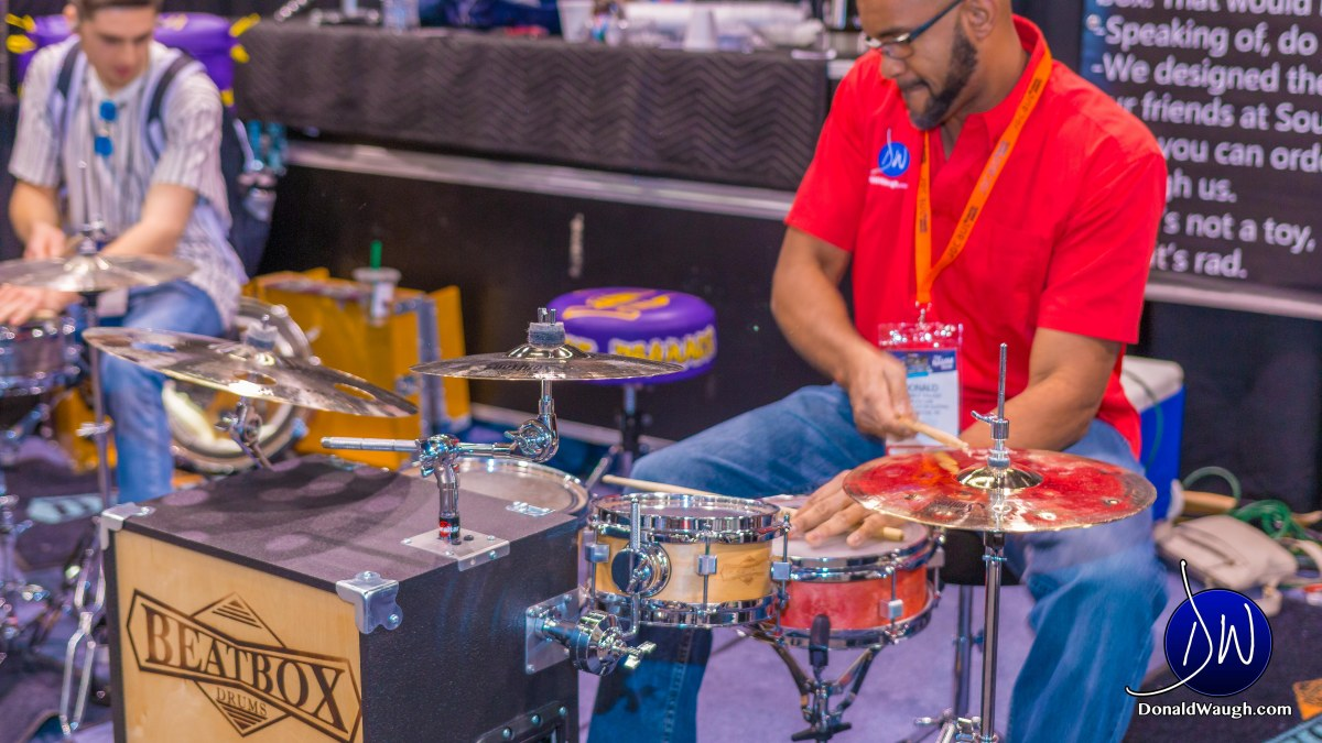 Beat Box Drums - Innovation in travel drums!